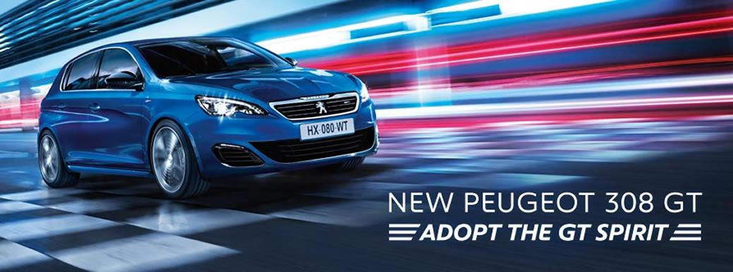 New Peugeot 308 gt