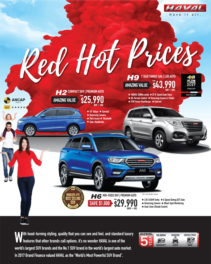 Havals Red Hot Prices