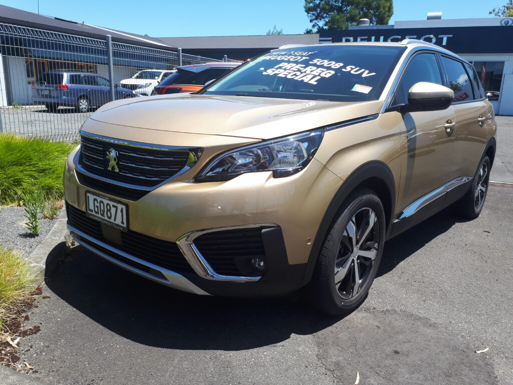 2018 Peugeot 5008 Allure 7 Seater Great Wall Foton Dealers
